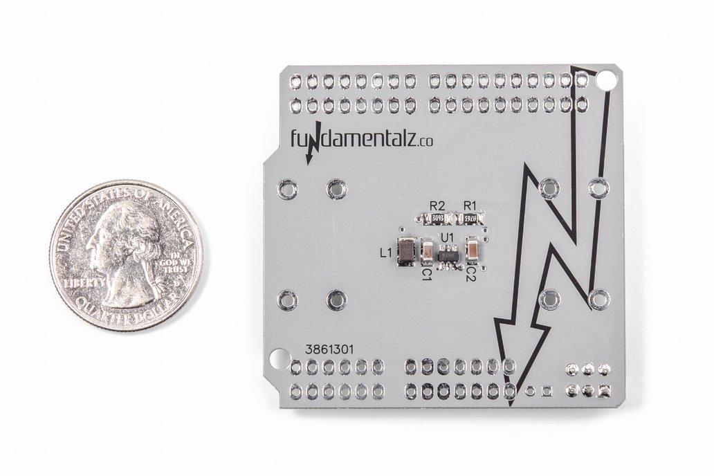 AA Arduino Power Shield 2