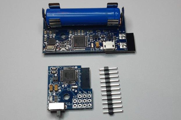 3 axis wireless gyroscope - Zita V2