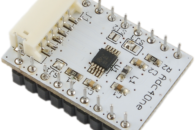 NodeIT Adc4One - 4 channels 12 bit A/D converters