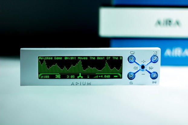 Audio Hi-Fi Player Real Time Spectrum Analyser
