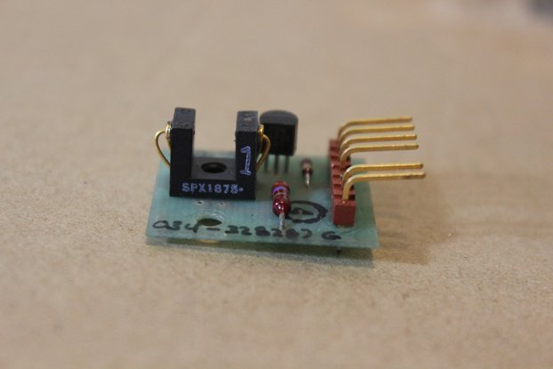 Small IR beam-break photodiode sensor