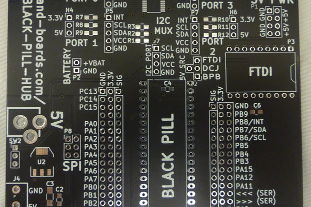 Black Pill Hub (PCB Only)