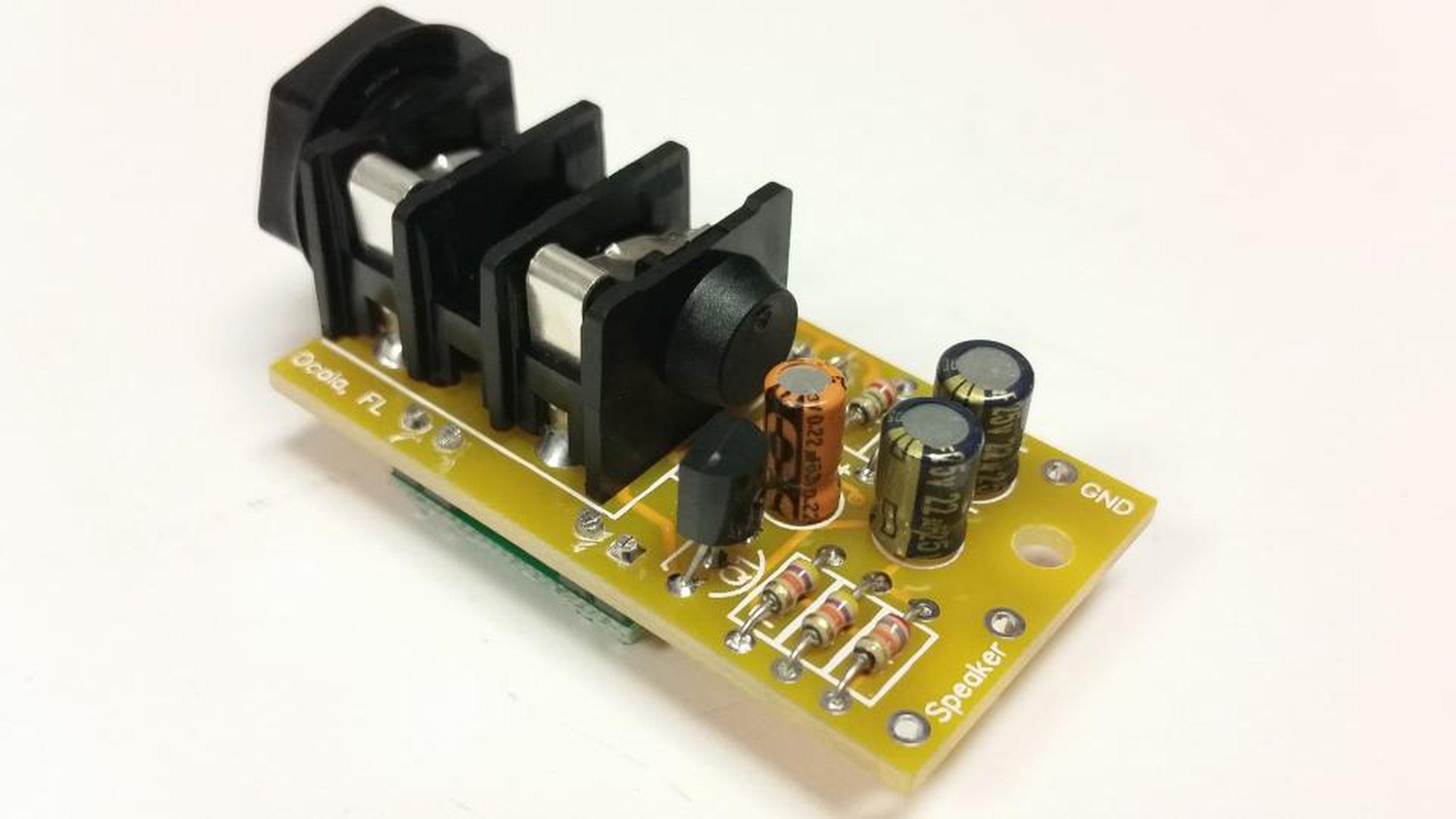 Electronic Equipment Supplies Amp Services : Watt micro guitar amp kit from nightfire electronics llc