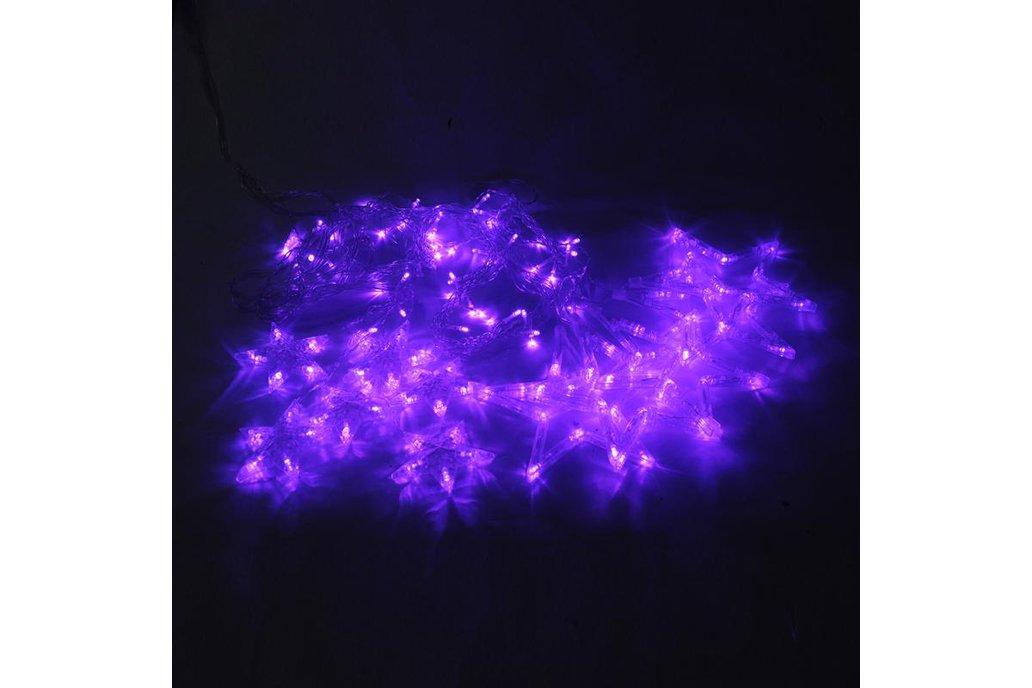 Christmas Lights Fairy Star LED Curtain String 12