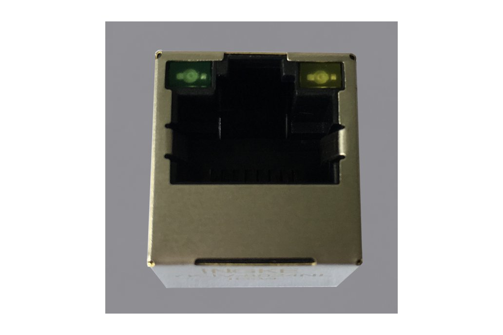 100Base-T Vertical RJ45 Connector for Smart Home 1
