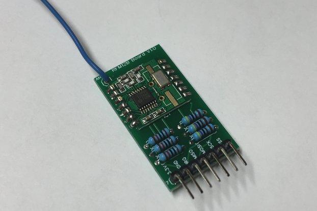 RFM12B Board