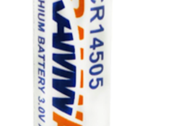 2xCR14505 Lithium Primary AA Size Battery