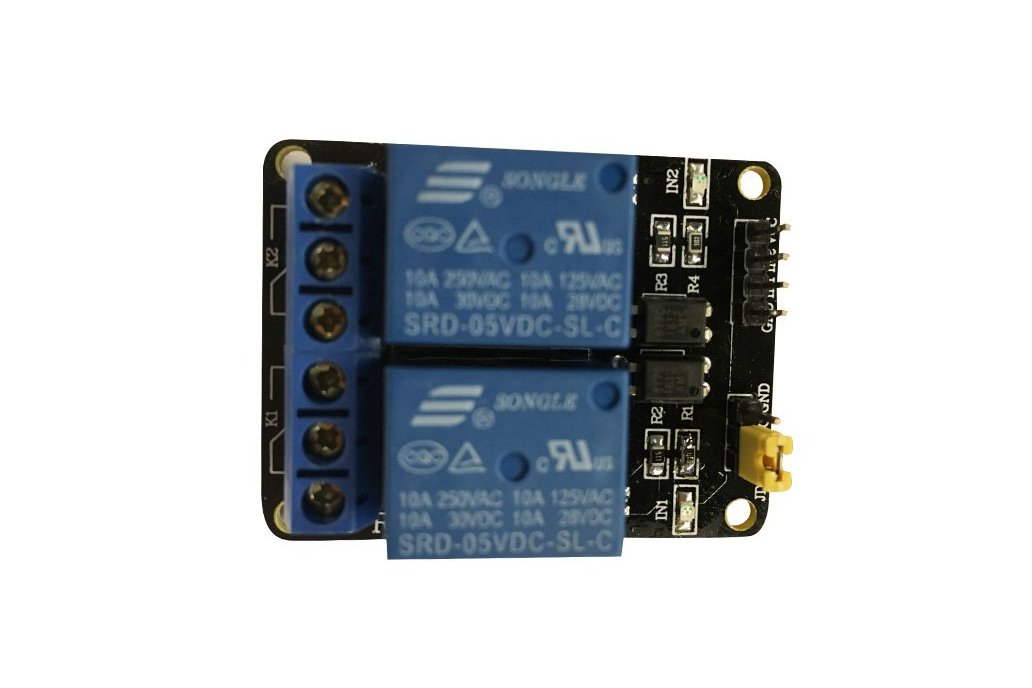 2 channel Relay Module with optocoupler 3
