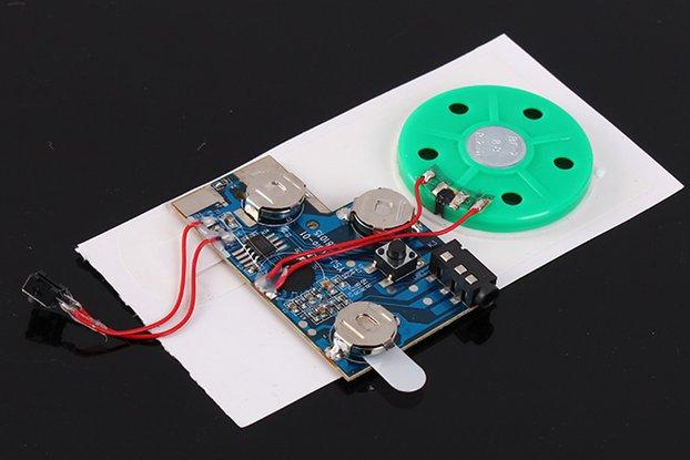 Button Control 120S Recordable Voice Module(13421)
