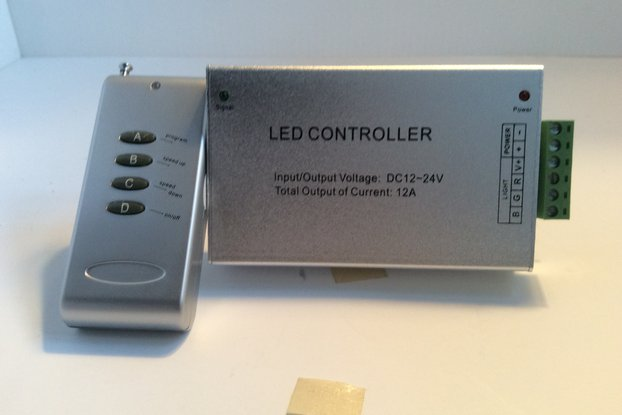 Radio Controller for an LED RGB Strip