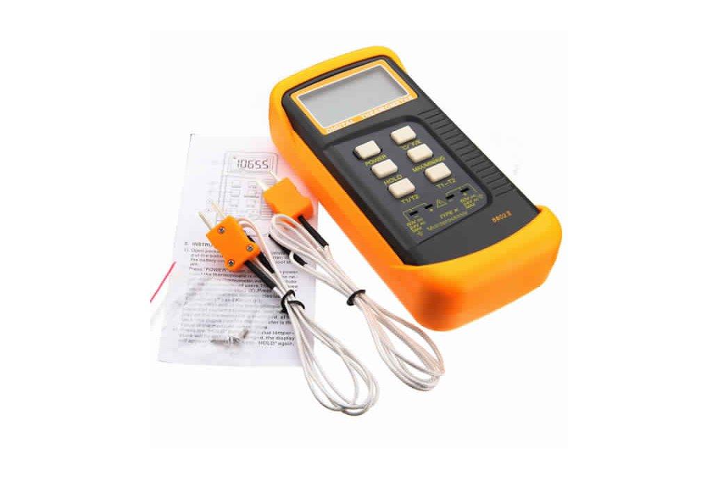 6802II Digital Waterproof Thermometer 2