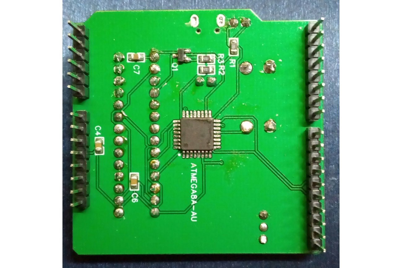 Attiny fuse reset shield from soubitos on tindie