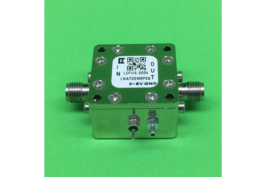 Amplifier-LNA 0.7GHz to 6.0GHz Low Noise NF 0.4dB 1