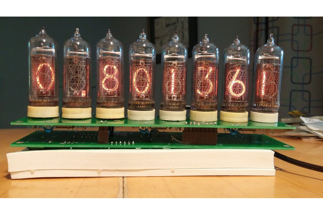 Nixie Divergence Meter from Tom Titor IN-14 Nixies 3