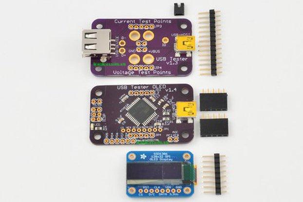 USB Tester OLED Backpack Bundle