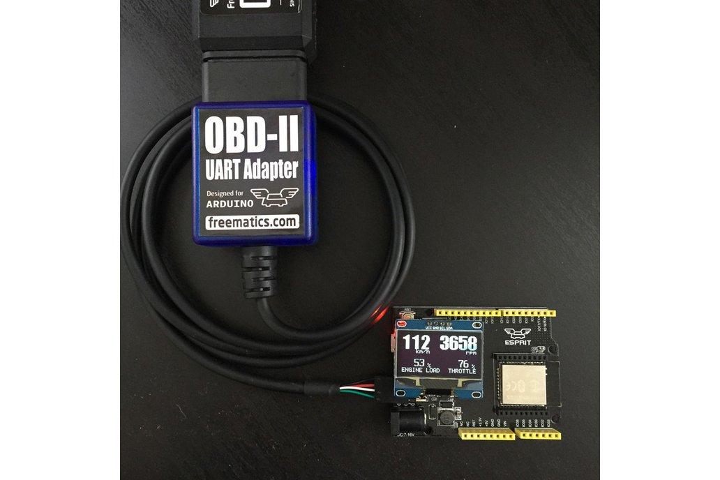 Freematics Esprit - ESP32 Arduino Dev Board 4