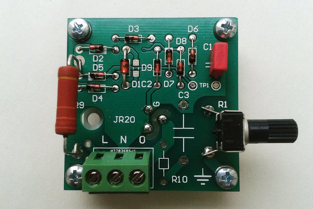Triac power regulator/dimmer 25A  JR20