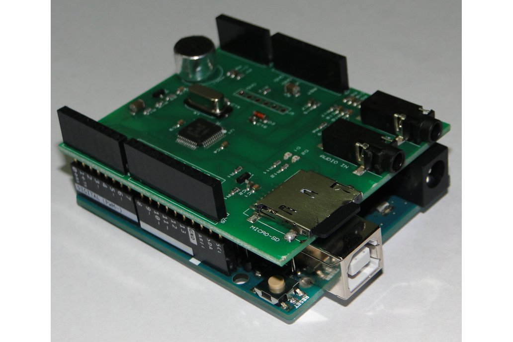 SoundDuino , Audio Shield for Arduino 6