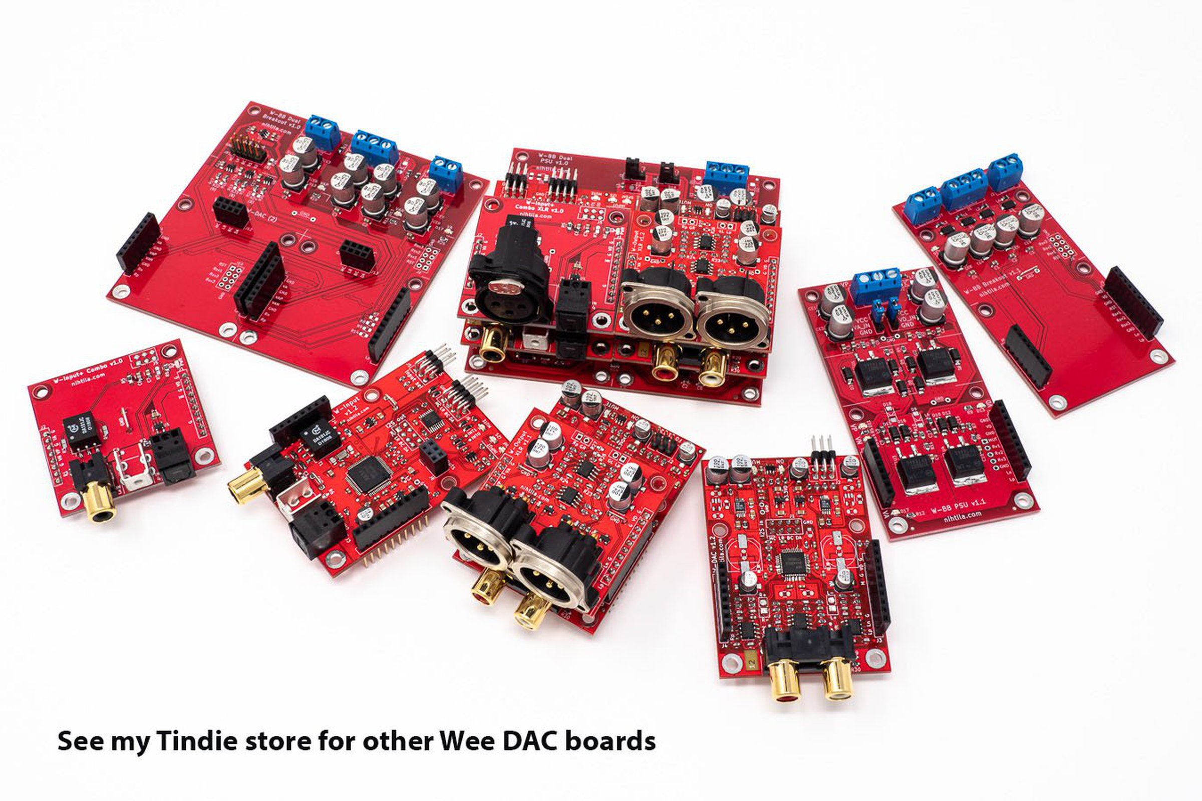 Wee DAC boards