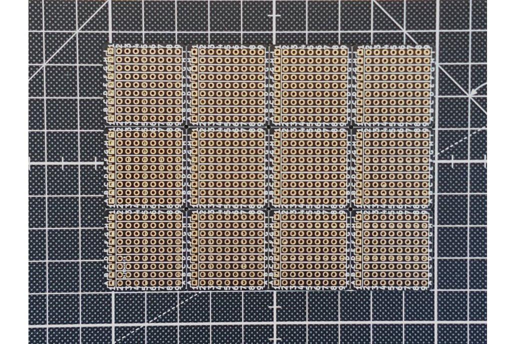 """Tiny 1""""x1"""" Through Hole Prototype Board 1"""