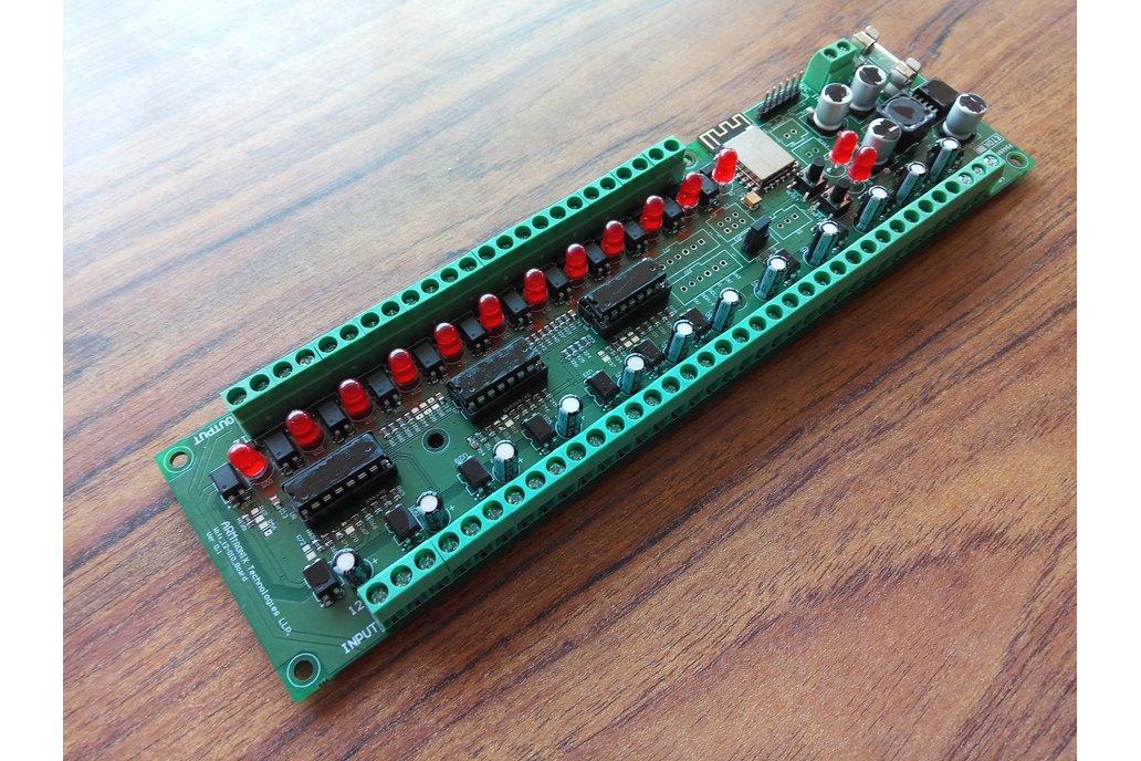 IA009: Wifi 12 Digital Input, output Board 1