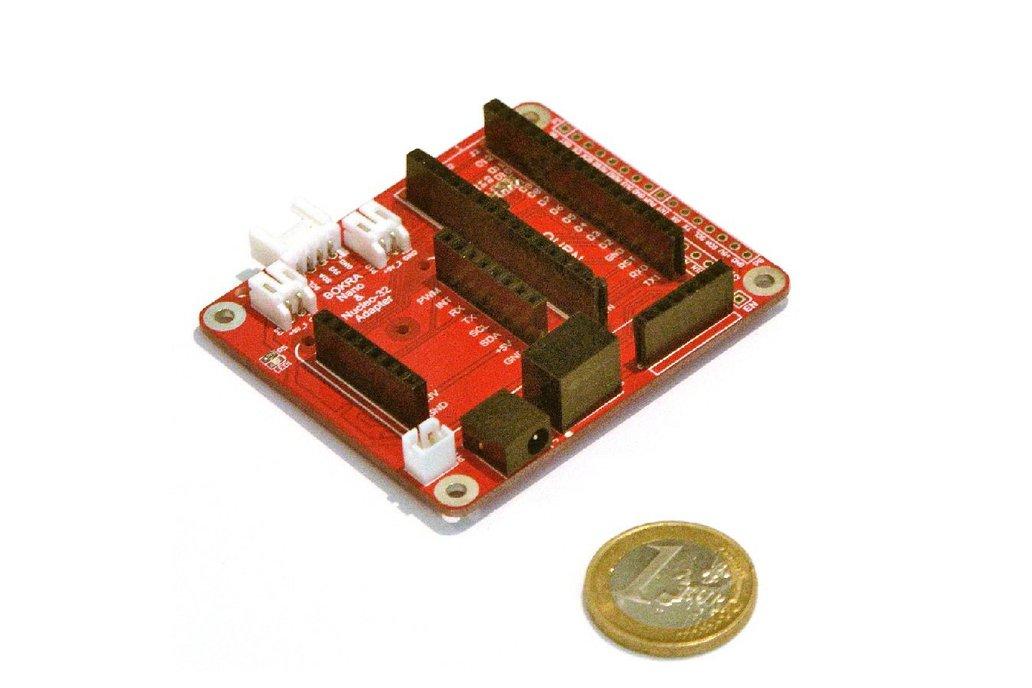 Adapter for Arduino Nano & Nucleo-32 modules 1