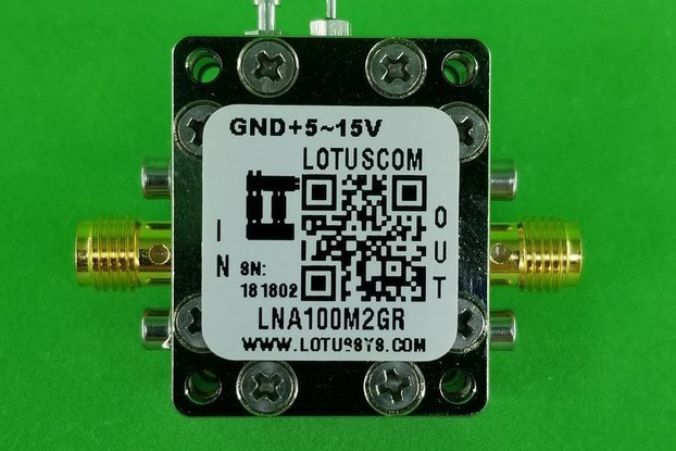 Broadband Ultra LNA with LDO 0.45dB NF 100M~2GHz