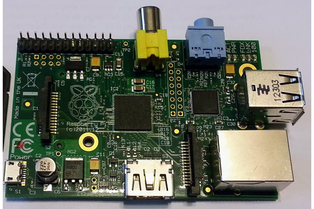 Raspberry Pi B (Original) 1