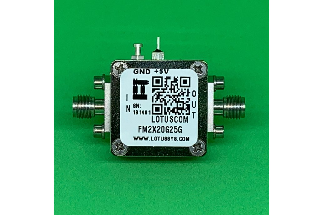 Active Freq. Multiplier X2 (OUTPUT 20 to 25 GHz) 1