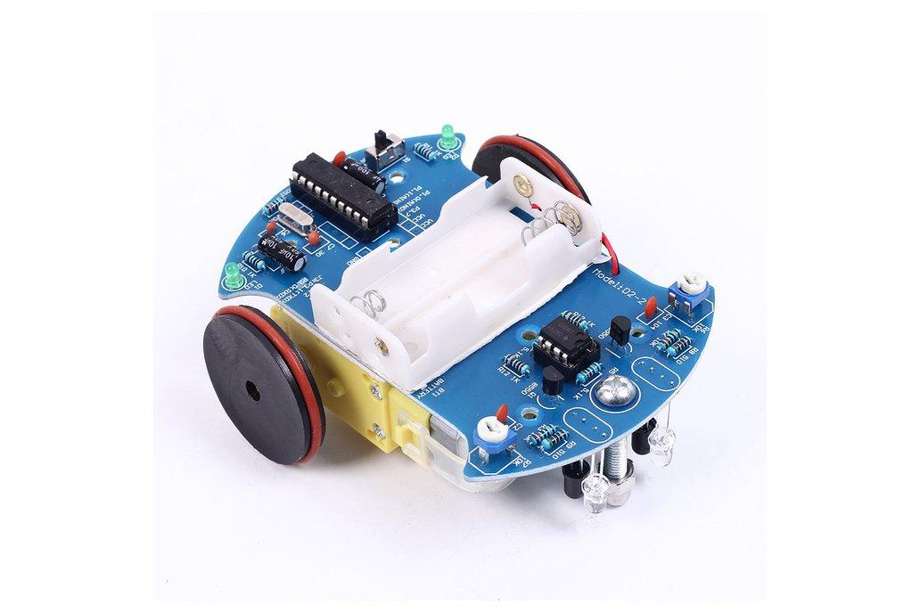 DIY D2-2 Track Line Smart Car AT89C2051(10170) 1