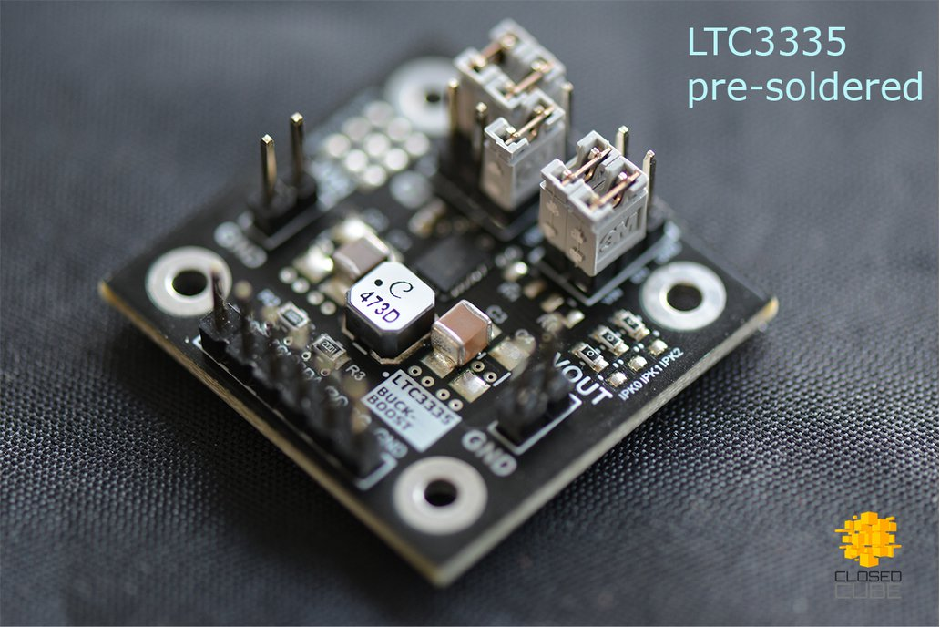 LTC3335 Nanopower Buck-Boost with Coulomb Counter 7