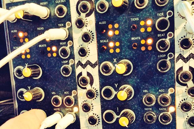 Tuesday - procedural sequencer for eurorack