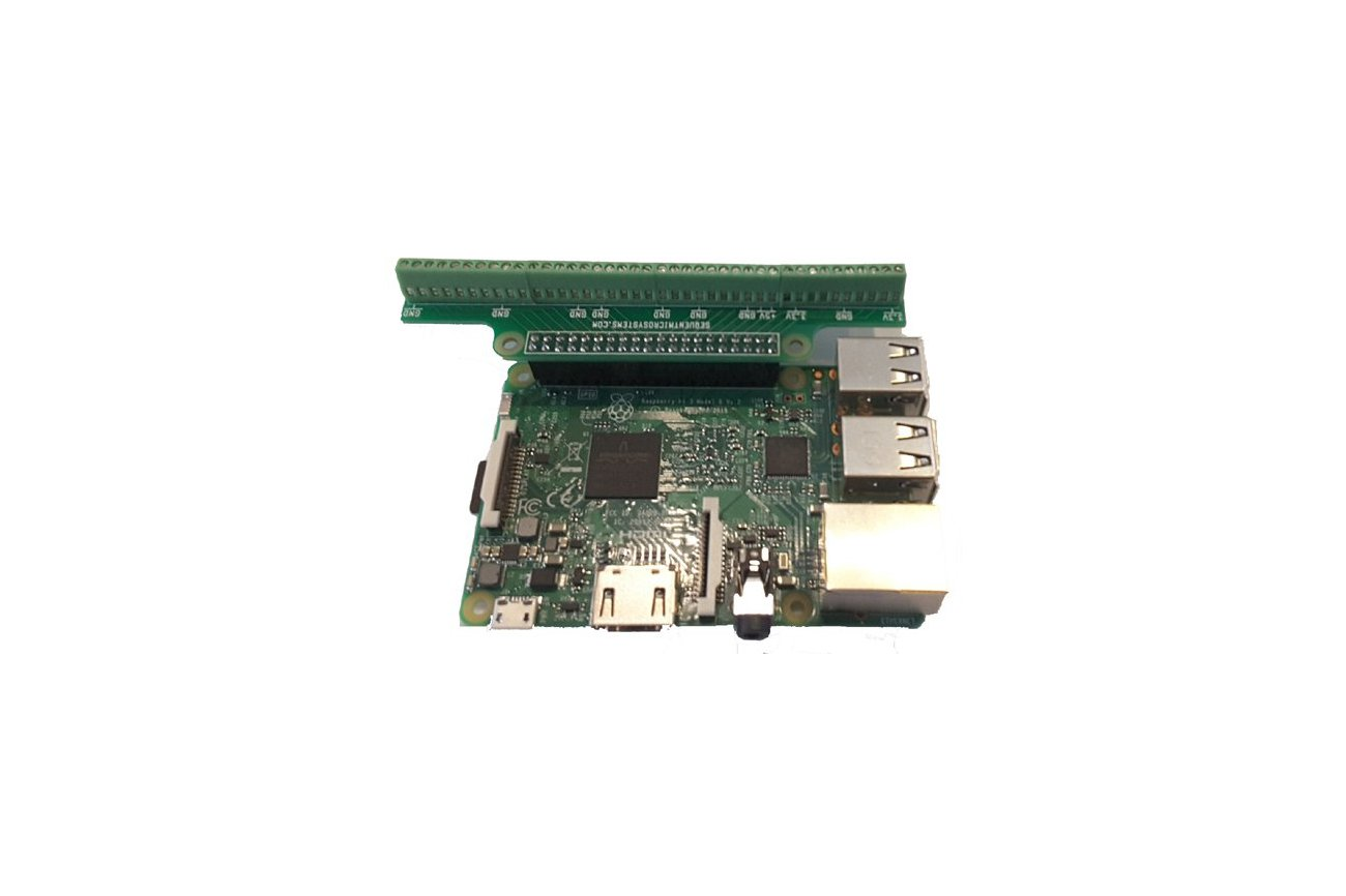 Break-out Card for Raspberry Pi