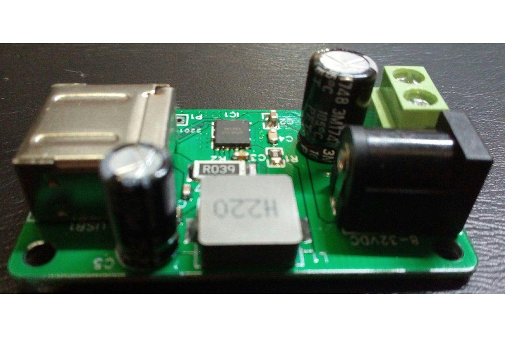 DIY USB uP9616 QC2-QC3 charger 5-9-12V/3.3A max 3