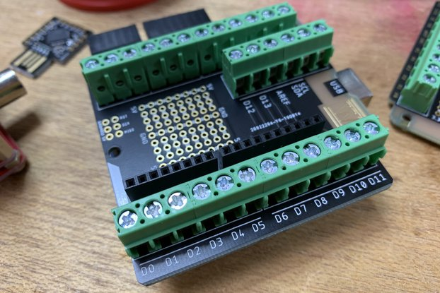 Arduino Uno High Quality Shield (kit)
