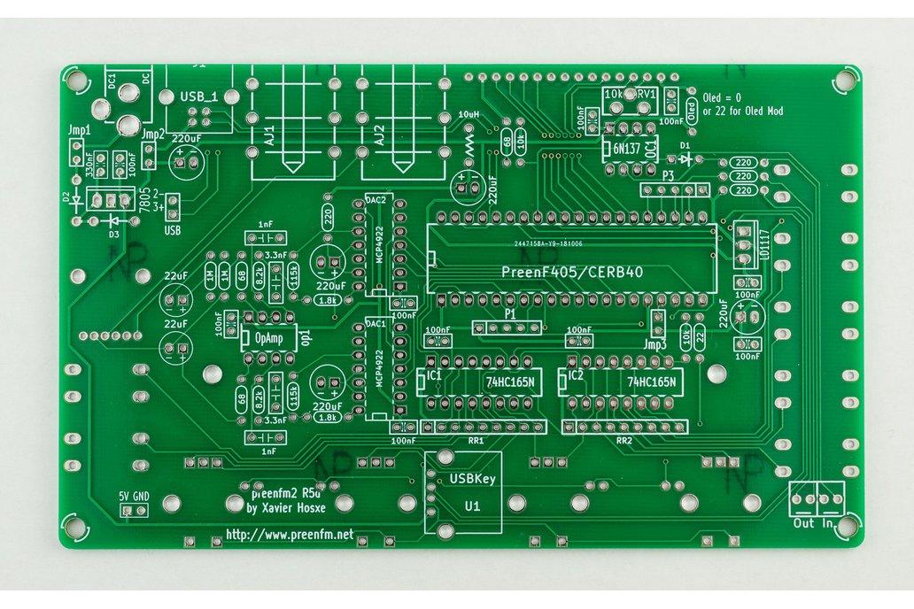 preenFM2 FM Synthesizer PCB + F405 MCU Board 1