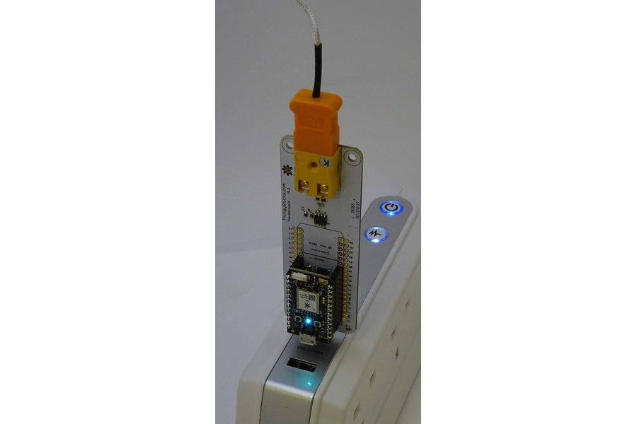 Thermocouple ThingyStick for the Particle Photon