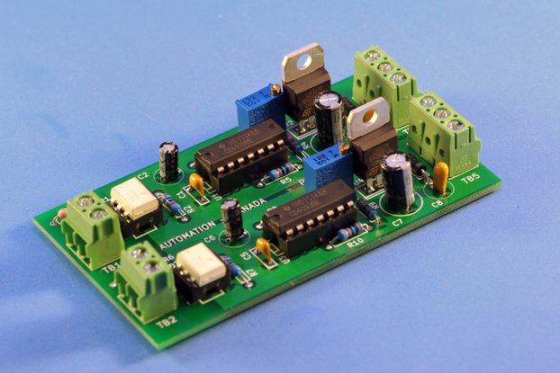 Isolated 2 or 3 channel PWM to Analog Converter