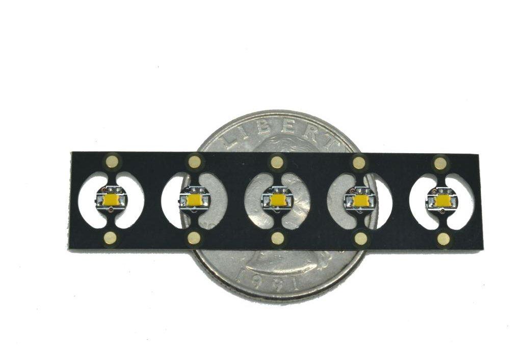10 Warm White 4mm Pico LEDs on Panel 8
