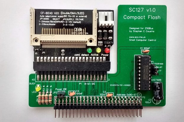 SC127 Compact Flash Interface Kit for Z50Bus