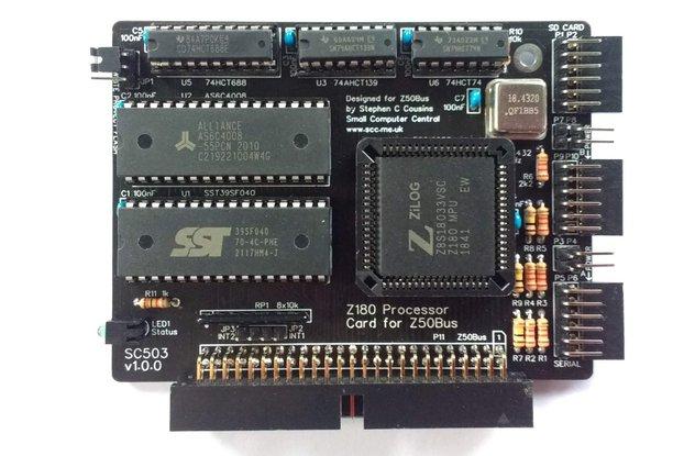 SC503 Z180 Processor Card Kit for Z50Bus