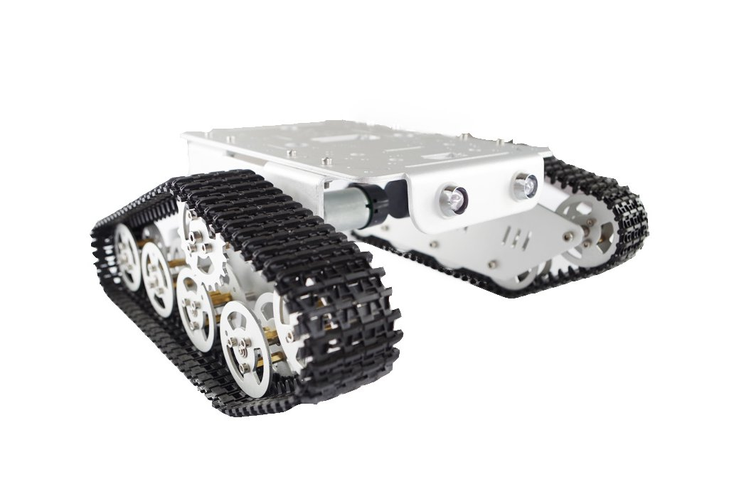 T300 Metal Wall-E Caterpillar Tank Chassis 1