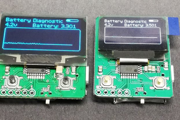 Two way OLED remote