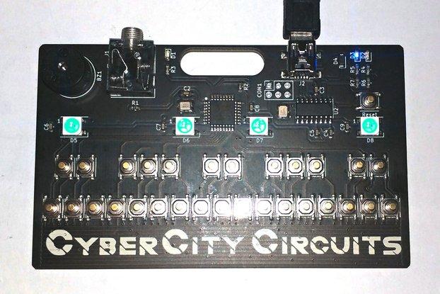Mini-Tone Keyboard Badge