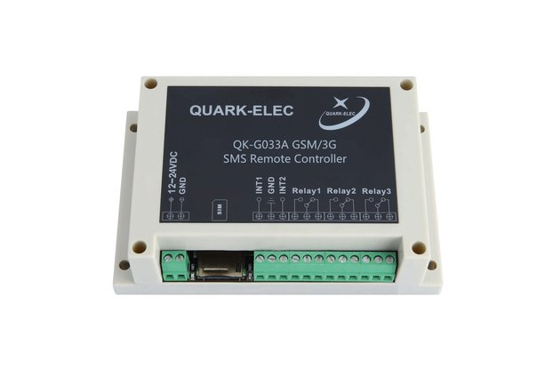 QK-G033 GSM/3G SMS Remote Control Three outputs-UK