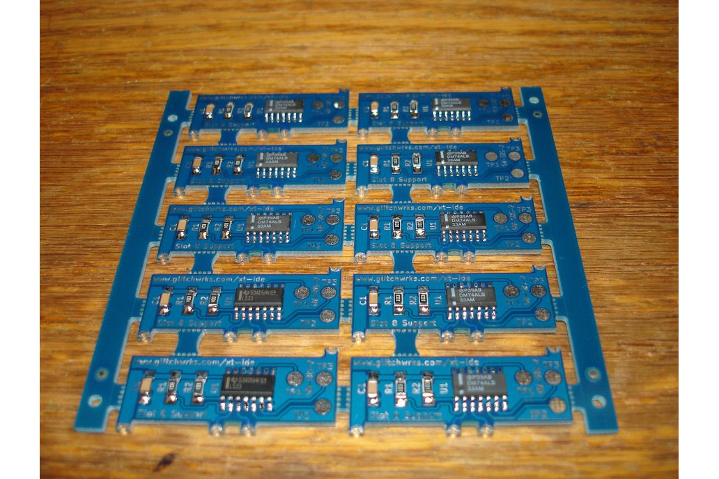 Slot 8 Support for XT-IDE GW-S8S-2 XTIDE 2