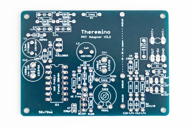 Theremino PMT Adapter v3.3 PCB