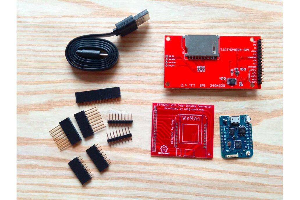 ESP8266 WiFi Color Display Kit 2.4″ 4
