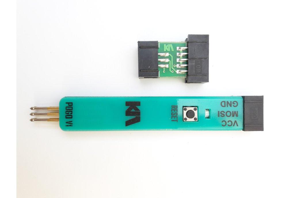 AVR ISP POGO PIN ADAPTER 1