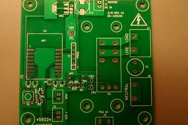 Board blank for ESP12-appliance_mod
